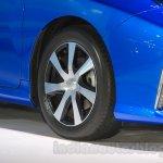 Toyota Mirai wheel at the Gaikindo Indonesia International Auto Show 2015