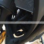 Yamaha R3 for India heat radiator fins spyshot