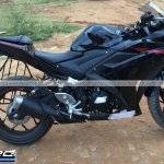 Yamaha R3 for India side spyshot