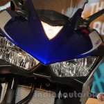 Yamaha YZF-R3 racing blue headlamps launched in Delhi at INR 3.25 Lakhs