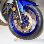 Yamaha YZF-R3 racing blue wheels launched in Delhi at INR 3.25 Lakhs
