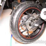 Yamaha YZF-R3 rear tire launched in Delhi at INR 3.25 Lakhs