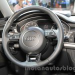 2015 Audi A6 Allroad Quattro steering at the 2015 Chengdu Motor Show