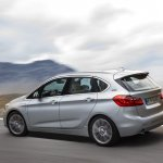 2015 BMW 225xe PHEV Active Tourer rear three quarter dynamic unveiled