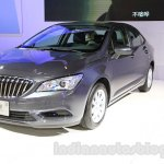 2015 Buick Verano front three quarter at the 2015 Chengdu Motor Show