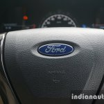 2015 Ford Endeavour Blue Oval on the steering wheel (Review)