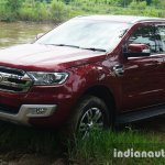 2015 Ford Endeavour front three quarter left (Review)