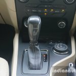 2015 Ford Endeavour gear shifter and Terrain Management dial (Review)