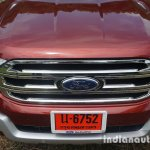 2015 Ford Endeavour grille (Review)