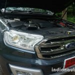 2015 Ford Endeavour hood open (Review)
