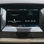 2015 Ford Endeavour infotainment display (Review)