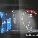2015 Ford Endeavour instrument cluster 2 (Review)