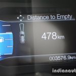 2015 Ford Endeavour instrument cluster 4 (Review)