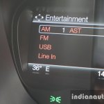 2015 Ford Endeavour instrument cluster 7 (Review)