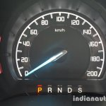 2015 Ford Endeavour instrument cluster (Review)