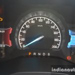 2015 Ford Endeavour instrument cluster lit up (Review)