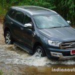 2015 Ford Endeavour off-road (Review)