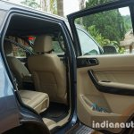 2015 Ford Endeavour rear door card (Review)