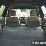 2015 Ford Endeavour seats folded flat (Review)