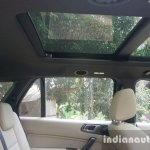 2015 Ford Endeavour sunroof from the side (Review)