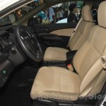 2015 Honda CR-V facelift front seats at the 2015 Chengdu Motor Show