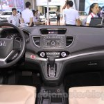 2015 Honda CR-V facelift interior at the 2015 Chengdu Motor Show