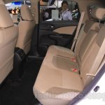 2015 Honda CR-V facelift rear seats at the 2015 Chengdu Motor Show