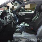 2015 Infiniti QX70 Ultimate front seats at IAA 2015