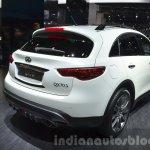 2015 Infiniti QX70 Ultimate rear three quarters at IAA 2015