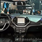 2015 Jeep Cherokee Trailhawk dashboard at the IAA 2015