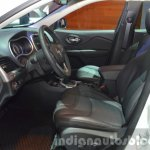2015 Jeep Cherokee Trailhawk front cabin at the IAA 2015