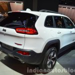 2015 Jeep Cherokee Trailhawk rear three quarter at the IAA 2015