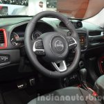 2015 Jeep Renegade Trailhawk interior at the IAA 2015