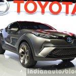 2015 Toyota C-HR Concept front three quarter view at IAA 2015