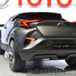 2015 Toyota C-HR Concept rear fascia view at IAA 2015