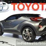 2015 Toyota C-HR Concept rear three quarter view at IAA 2015