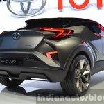 2015 Toyota C-HR Concept rear three quarters right at IAA 2015