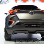 2015 Toyota C-HR Concept taillamp and bumper at IAA 2015