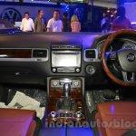 2015 VW Touareg dashboard at the 2015 NADA Auto Show