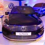 2015 VW Touareg front at the 2015 NADA Auto Show