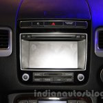 2015 VW Touareg music system at the 2015 NADA Auto Show