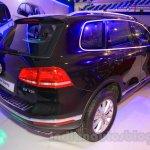 2015 VW Touareg rear quarter at the 2015 NADA Auto Show