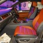2015 VW Touareg seats at the 2015 NADA Auto Show