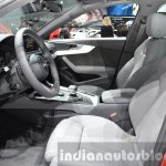 2016 Audi A4 Avant S-line front cabin at the IAA 2015
