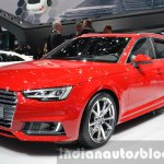 2016 Audi A4 Avant S-line front three quarter at the IAA 2015
