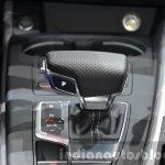 2016 Audi A4 Avant S-line gear selector at the IAA 2015