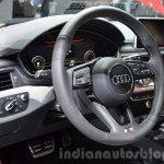 2016 Audi A4 Avant S-line steering wheel at the IAA 2015