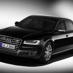 2016 Audi A8L Security front three quarter unveiled