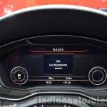 2016 Audi S4 Virtual Cockpit display at the IAA 2015