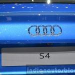 2016 Audi S4 audi badge at the IAA 2015